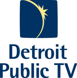 Detroit Public TV logo and link to dptv.org