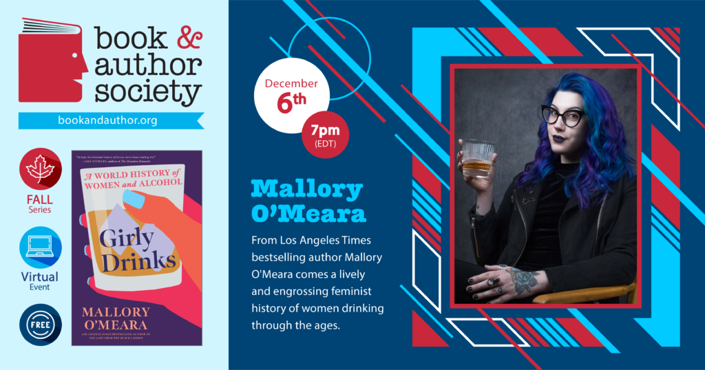 Event information for Mallory O'Meara with link to Zoom registration page