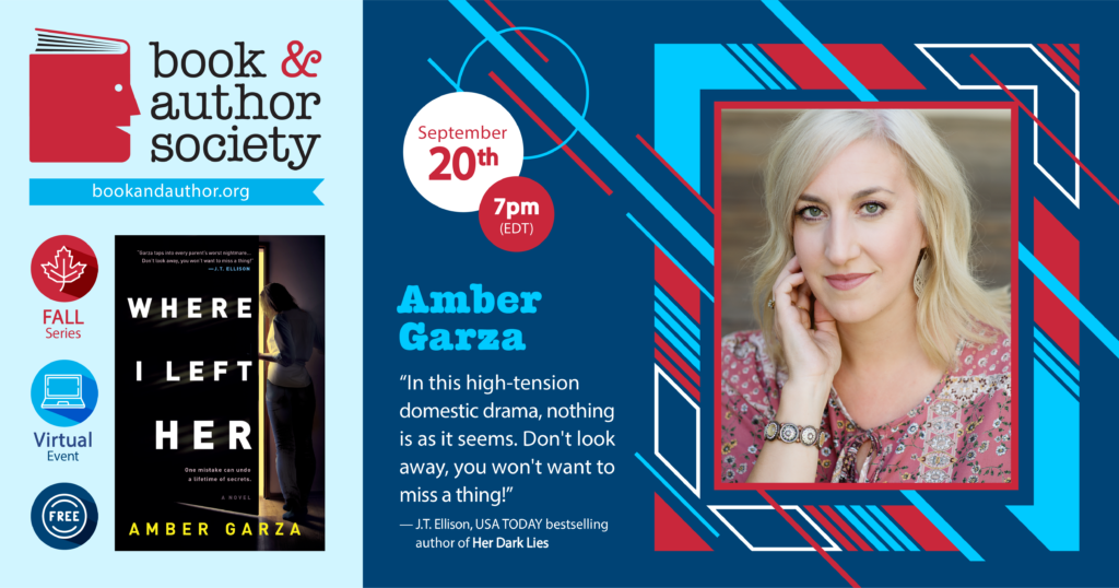 Event information for Amber Garza on Sept. 20, 2021 at 7pm EDT